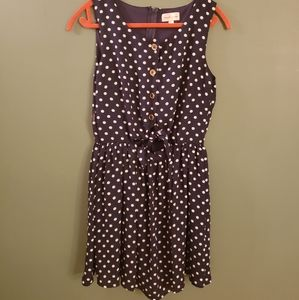Vintage inspired polka dot dress